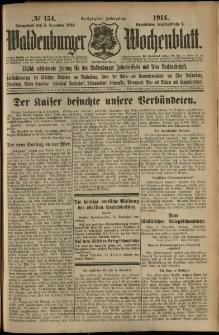 Waldenburger Wochenblatt, Jg. 60, 1914, nr 154
