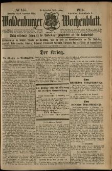 Waldenburger Wochenblatt, Jg. 60, 1914, nr 155