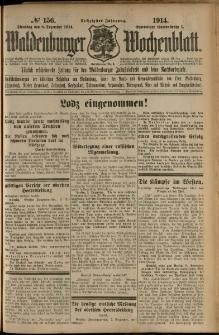 Waldenburger Wochenblatt, Jg. 60, 1914, nr 156