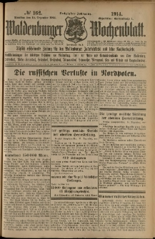 Waldenburger Wochenblatt, Jg. 60, 1914, nr 162