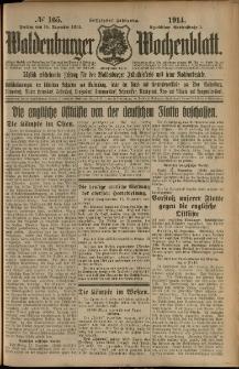 Waldenburger Wochenblatt, Jg. 60, 1914, nr 165