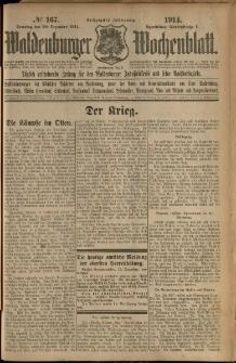 Waldenburger Wochenblatt, Jg. 60, 1914, nr 167