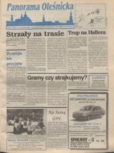 Panorama Oleśnicka: tygodnik Ziemi Oleśnickiej, 1994, nr 33