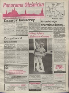 Panorama Oleśnicka: tygodnik Ziemi Oleśnickiej, 1994, nr 46