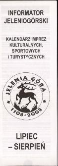 Informator Jeleniogórski, 2008, lipiec-sierpień