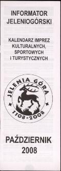 Informator Jeleniogórski, 2008, październik