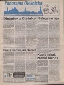 Panorama Oleśnicka: tygodnik Ziemi Oleśnickiej, 1996, nr 46