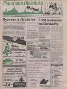 Panorama Oleśnicka: tygodnik Ziemi Oleśnickiej, 1996, nr 52/53