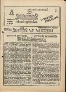 Solidarność Jeleniogórska : wydanie specjalne : marzec-maj, 1981 r.