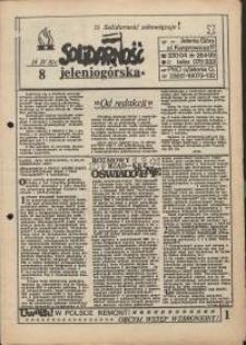 Solidarność Jeleniogórska : 14.04.1981 r., nr 8