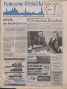 Panorama Oleśnicka: tygodnik Ziemi Oleśnickiej, 1997, nr 4