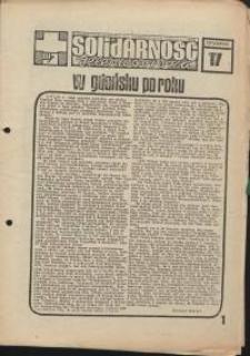 Solidarność Jeleniogórska : tygodnik Zarządu Regionalnego NSZZ Solidarność Region Jeleniogórski : 22.08.1981 r., nr 17