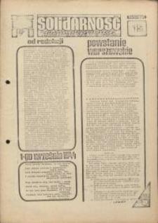 Solidarność Jeleniogórska : tygodnik Zarządu Regionalnego NSZZ Solidarność Region Jeleniogórski : 1.08.1981 r., nr 15