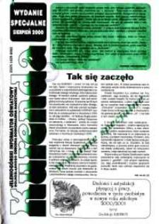 Kurenda : jeleniogórski informator oświatowy Dolnośląskiego Ośrodka Doskonalenia Nauczycieli : wydanie specjalne, sierpień 2000