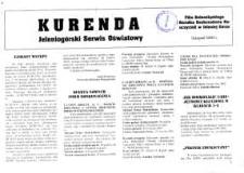 Kurenda : jeleniogórski serwis oświatowy, listopad 2000