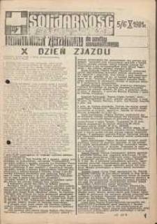 Solidarność Jeleniogórska : komunikat zjazdowy : 5/6.10.1981 r.