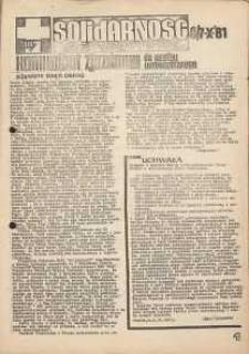 Solidarność Jeleniogórska : komunikat zjazdowy : 6/7.10.1981 r.