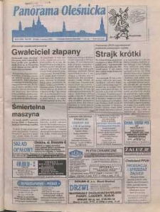 Panorama Oleśnicka: tygodnik Ziemi Oleśnickiej, 1998, nr 21