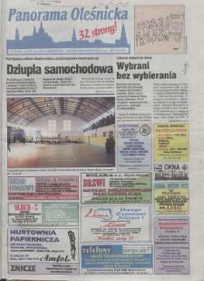 Panorama Oleśnicka: tygodnik Ziemi Oleśnickiej, 1998, nr 39