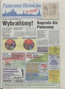 Panorama Oleśnicka: tygodnik Ziemi Oleśnickiej, 1998, nr 41