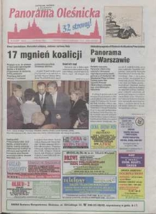 Panorama Oleśnicka: tygodnik Ziemi Oleśnickiej, 1998, nr 44