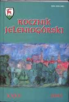 Rocznik Jeleniogórski, T. 35 (2003)