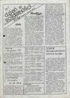 Dzień Solidarności : dziennik ZR NSZZ Solidarność Regionu Jelenia Góra, 26.11.1981, nr 1