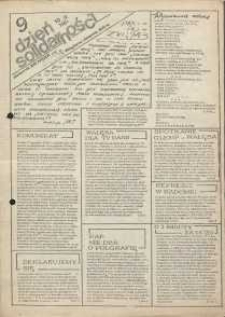 Dzień Solidarności : dziennik ZR NSZZ Solidarność Regionu Jelenia Góra, 10.12.1981, nr 9