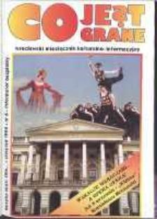 Co Jest Grane : wrocławski miesięcznik kulturalno-informacyjny, 1994, nr 6