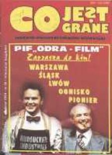 Co Jest Grane : wrocławski miesięcznik kulturalno-informacyjny, 1994, nr 10