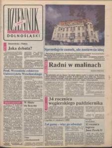 Dziennik Dolnośląski, 1990, nr 22 [23 października]