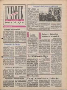 Dziennik Dolnośląski, 1990, nr 35 [12 listopada]