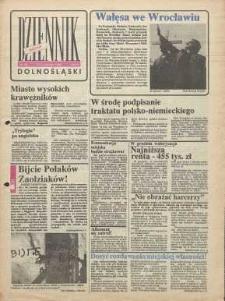 Dziennik Dolnośląski, 1990, nr 36 [13 listopada]