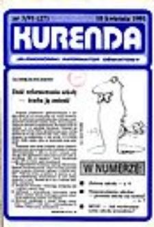 Kurenda : jeleniogórski informator oświatowy, 1991, nr 3 (27)