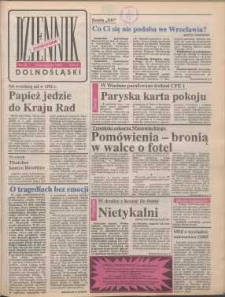 Dziennik Dolnośląski, 1990, nr 40 [19 listopada]
