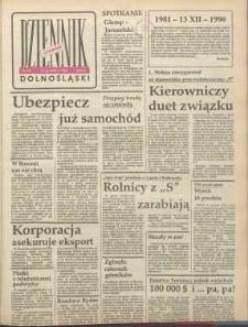 Dziennik Dolnośląski, 1990, nr 58 [13 grudnia]