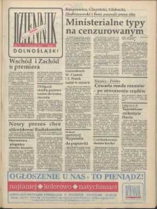 Dziennik Dolnośląski, 1991, nr 73 [9 stycznia]