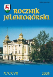 Rocznik Jeleniogórski, T. 37 (2005)