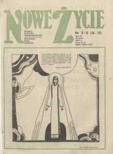 Nowe Życie :dolnośląskie pismo katolickie : religia, kultura, społeczeństwo, 1984, nr 2-3 (16-17)
