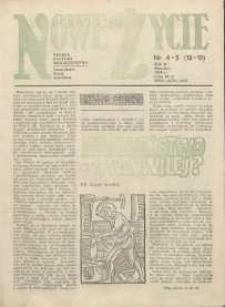 Nowe Życie :dolnośląskie pismo katolickie : religia, kultura, społeczeństwo, 1984, nr 4-5 (18-19)