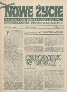 Nowe Życie :dolnośląskie pismo katolickie : religia, kultura, społeczeństwo, 1984, nr 12 (26)