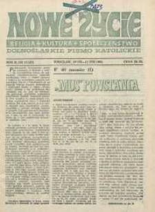 Nowe Życie :dolnośląskie pismo katolickie : religia, kultura, społeczeństwo, 1984, nr 13 (27)