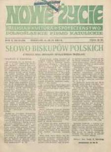 Nowe Życie :dolnośląskie pismo katolickie : religia, kultura, społeczeństwo, 1984, nr 16 (30)