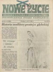 Nowe Życie :dolnośląskie pismo katolickie : religia, kultura, społeczeństwo, 1984, nr 18 (32)