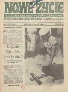 Nowe Życie :dolnośląskie pismo katolickie : religia, kultura, społeczeństwo, 1984, nr 19 (33)