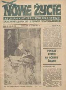 Nowe Życie :dolnośląskie pismo katolickie : religia, kultura, społeczeństwo, 1984, nr 22 (36)