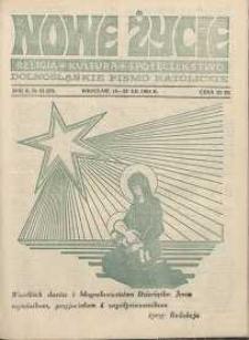Nowe Życie :dolnośląskie pismo katolickie : religia, kultura, społeczeństwo, 1984, nr 23 (37)