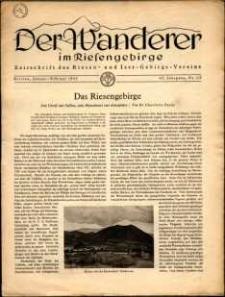 Der Wanderer im Riesengebirge, 1943, nr 1-2