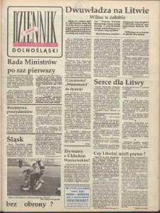 Dziennik Dolnośląski, 1991, nr 77 [15 stycznia]