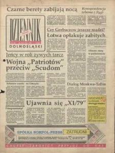 Dziennik Dolnośląski, 1991, nr 82 [22 stycznia]